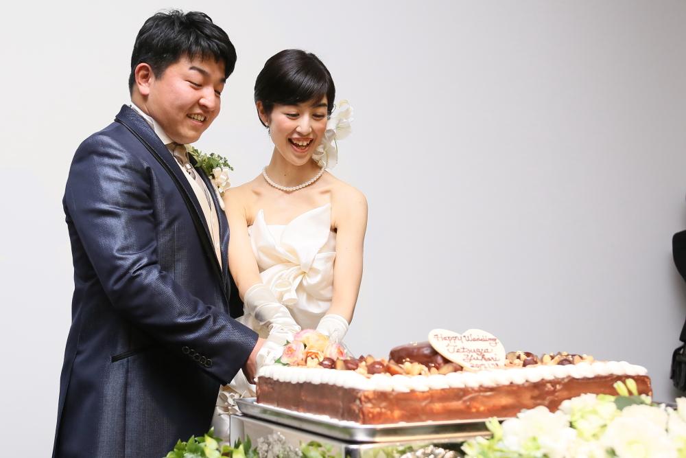 ケーキ入刀♪♪♪