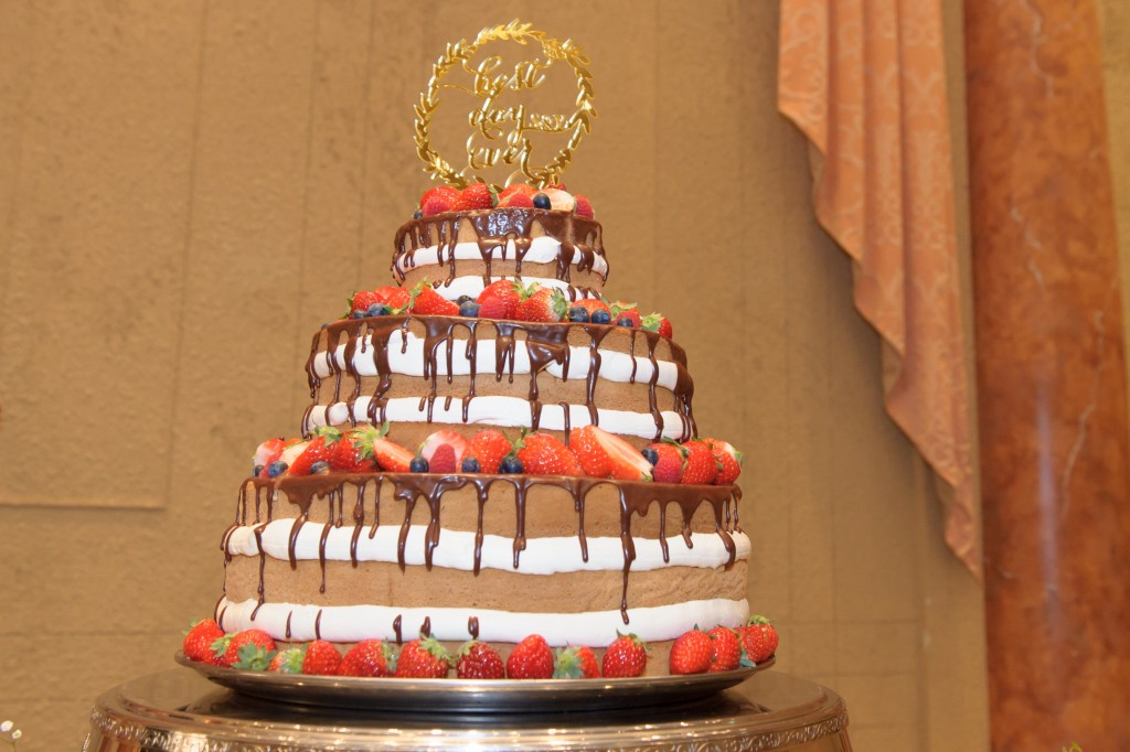 憧れの3段ケーキ♡