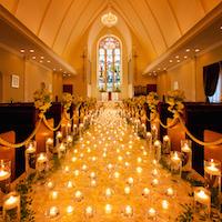 教会式・会場費などの特典つき