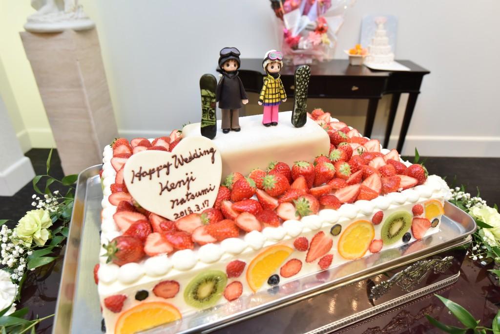 フルーツたっぷりケーキ♡