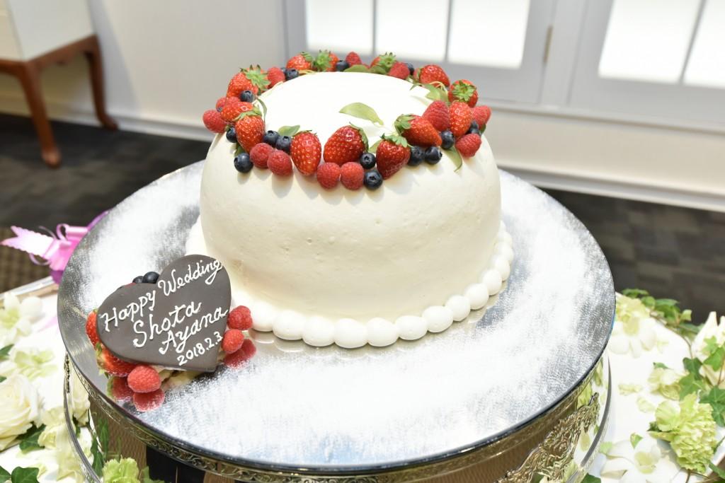 ケーキの形もかわいい♡