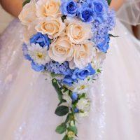 ブルーは花嫁様の幸せの色♡