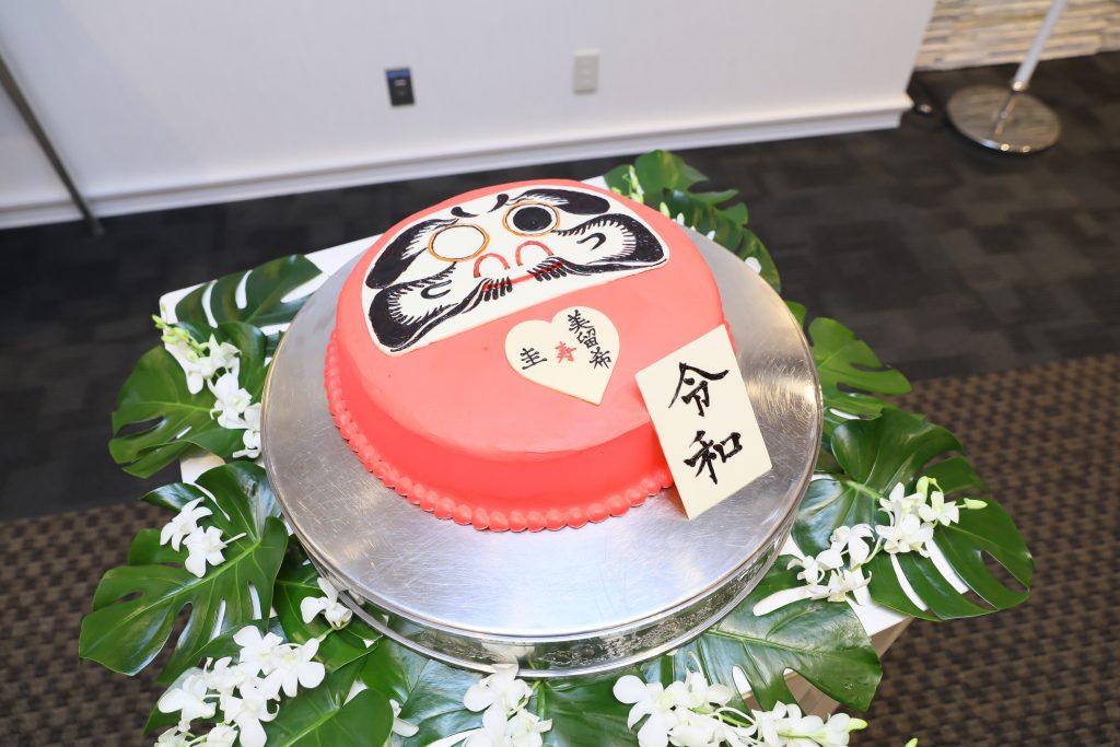 『だるまケーキ♡』