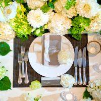 記念写真のアルバムやメイン&テーブル装花など豪華な特典付♡