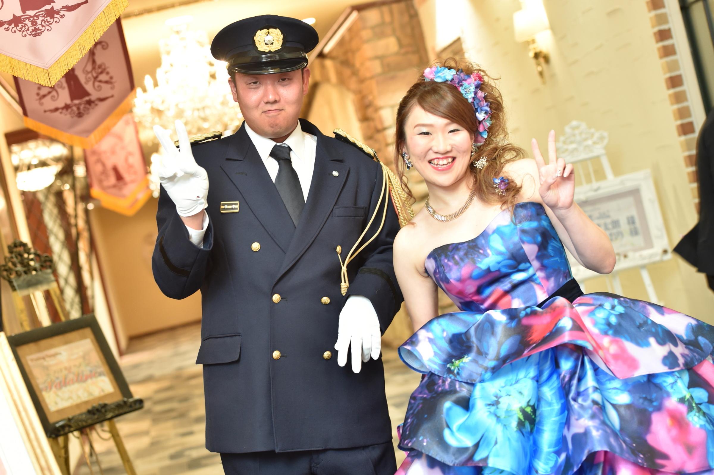 カラードレス♡制服にチェンジ!!