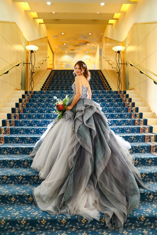 卒花嫁様に人気のフォトスポット♡だんとつ1位!!お姫様のような美しいお写真も残してみて♪