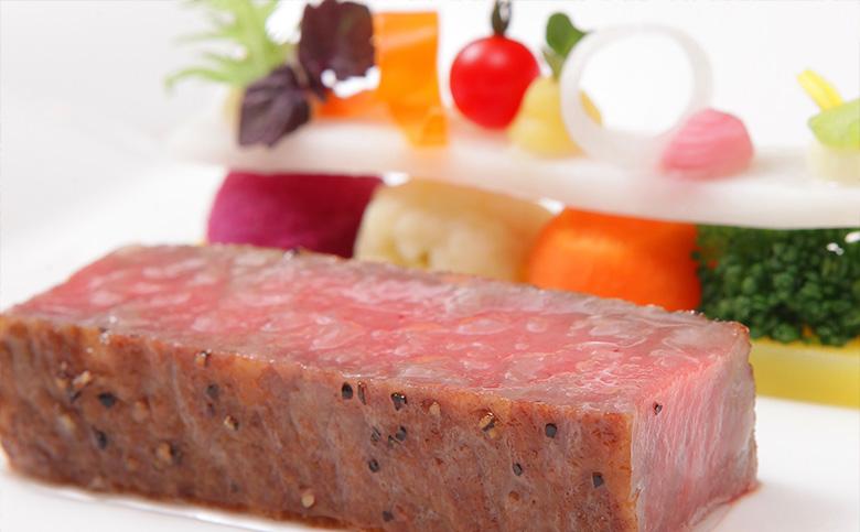 地元食材を中心にシェフ厳選の安全・安心食材